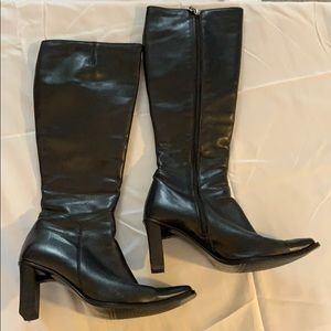 Prialpas Gomma Italian tall leather boot size 9.